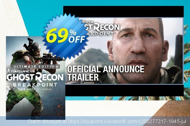 Tom Clancy's Ghost Recon Breakpoint: Ultimate Edition Xbox One discount 56% OFF, 2020 Back to School season offering sales