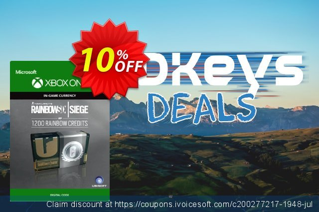 Tom Clancy's Rainbow Six Siege 1200 Credits Pack Xbox One discount 10% OFF, 2020 Exclusive Student discount offering sales