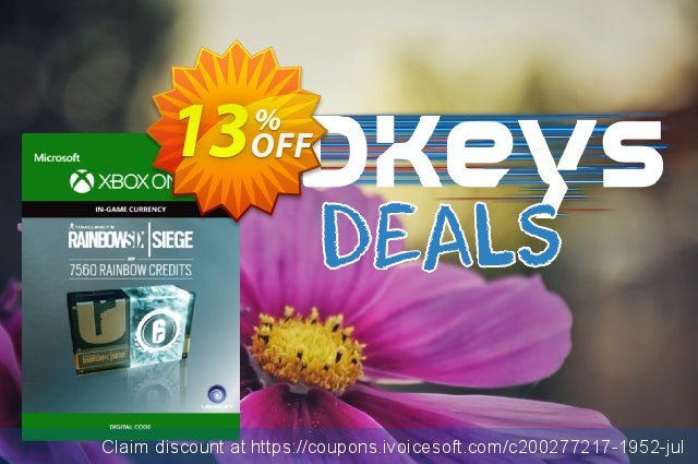 Tom Clancy's Rainbow Six Siege 7560 Credits Pack Xbox One discount 13% OFF, 2020 Teacher deals deals
