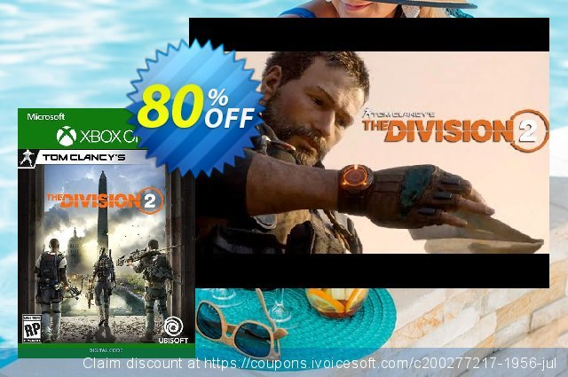 Tom Clancy's The Division 2 Xbox One discount 83% OFF, 2020 Halloween offering deals