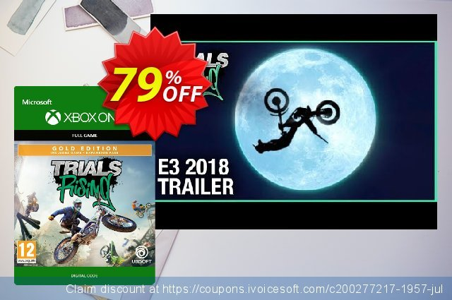 Trials Rising Gold Edition Xbox One discount 10% OFF, 2020 Back to School Promos offering deals