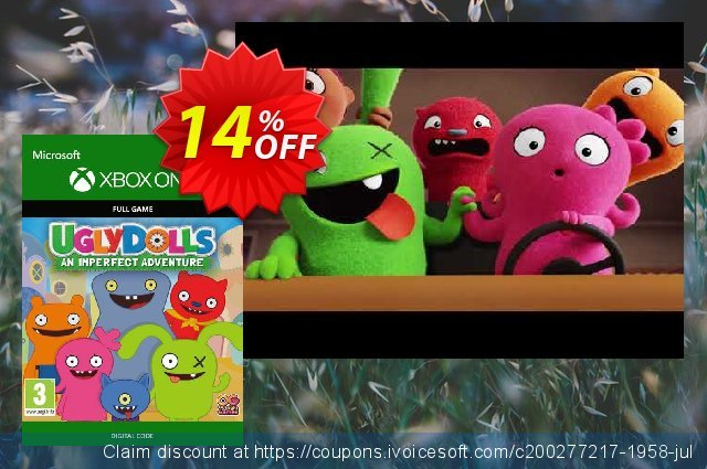 Uglydolls: An Imperfect Adventure Xbox One discount 11% OFF, 2020 Back to School promotion promo sales