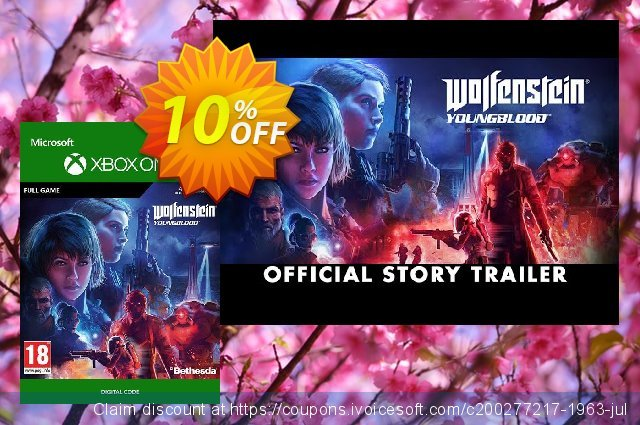 Wolfenstein: Youngblood Xbox One discount 10% OFF, 2020 Back to School shopping offering sales