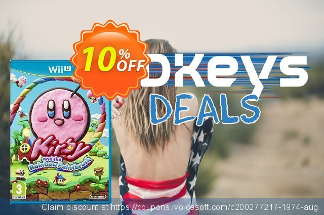 Kirby and the Rainbow Paintbrush Nintendo Wii U - Game Code discount 10% OFF, 2020 College Student deals offering discount