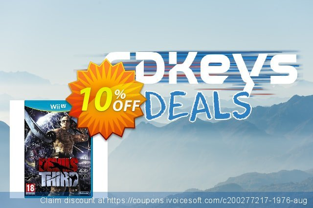Devil´s Third Wii U - Game Code discount 10% OFF, 2021 New Year's Day discounts