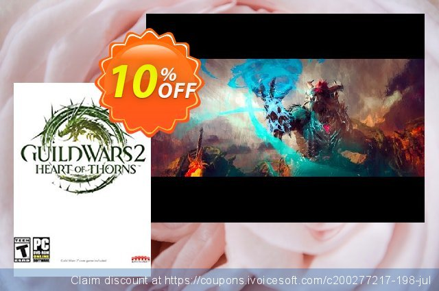 Guild Wars 2 Heart of Thorns Digital Deluxe PC discount 10% OFF, 2021 Mother Day offering sales. Guild Wars 2 Heart of Thorns Digital Deluxe PC Deal