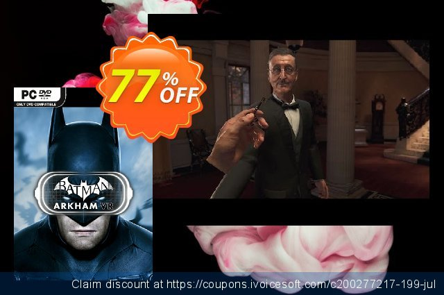 Batman: Arkham VR PC discount 74% OFF, 2021 Mother's Day offering sales. Batman: Arkham VR PC Deal