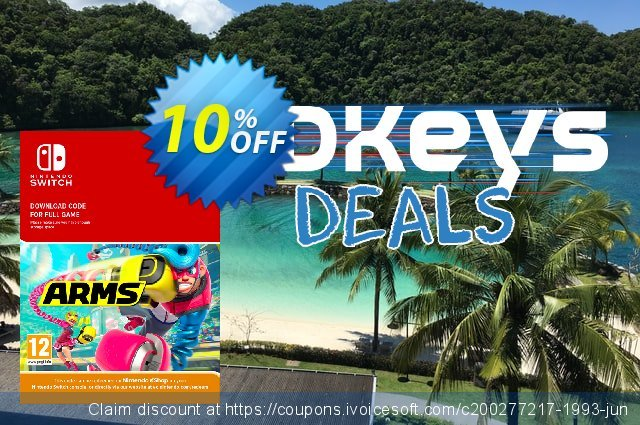 ARMS Switch discount 10% OFF, 2020 University Student deals offering discount