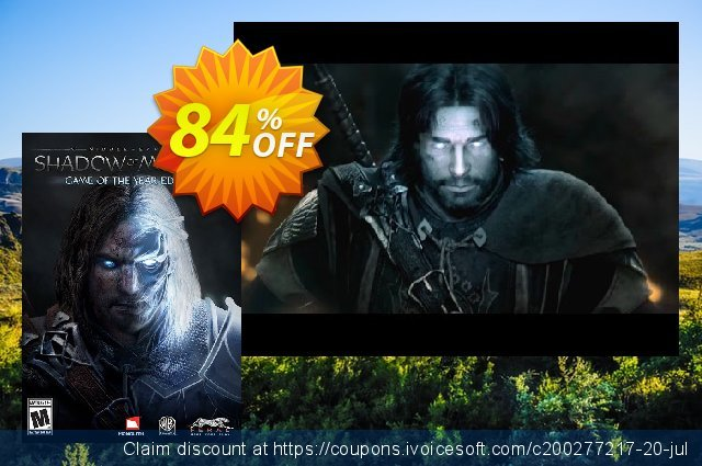 Middle-Earth: Shadow of Mordor Game of the Year Edition PC 令人恐惧的 产品销售 软件截图