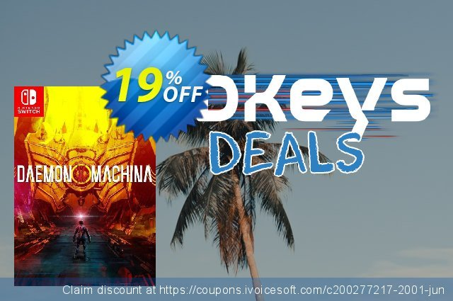 Daemon X Machina Switch discount 16% OFF, 2020 Back to School promo offering sales