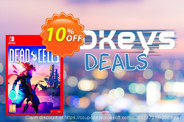 Dead Cells Switch discount 18% OFF, 2020 Back-to-School promotions offering sales