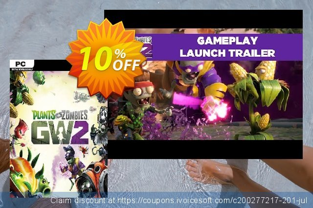 Plants vs Zombies: Garden Warfare 2 PC discount 10% OFF, 2021 Mother's Day offering sales. Plants vs Zombies: Garden Warfare 2 PC Deal