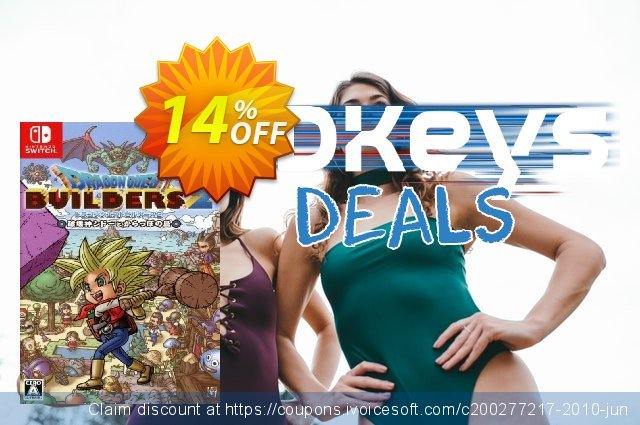 Dragon Quest Builders 2 Switch discount 19% OFF, 2020 Halloween discount