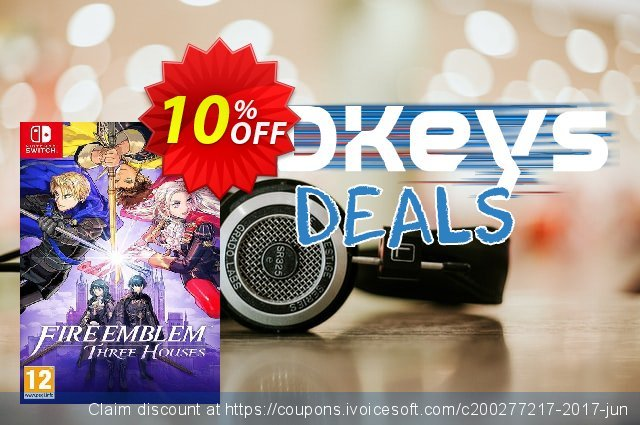 Fire Emblem: Three Houses Switch discount 20% OFF, 2020 College Student deals promo