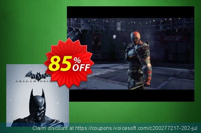 Batman: Arkham Origins PC discount 10% OFF, 2021 New Year's Weekend offering sales