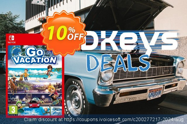 Go Vacation Switch discount 14% OFF, 2020 Back-to-School promotions offering sales