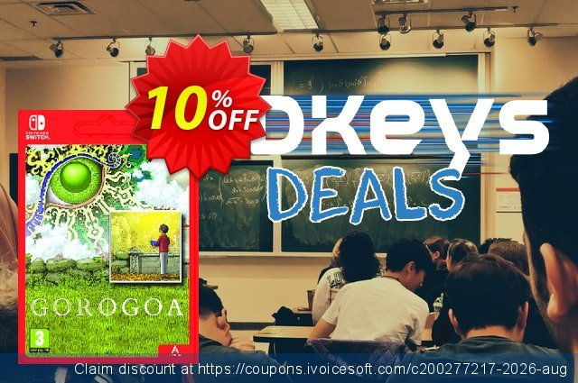 Gorogoa Switch discount 10% OFF, 2020 Back to School shopping promotions