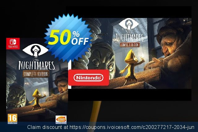 Little Nightmares: Complete Edition Switch  최고의   제공  스크린 샷
