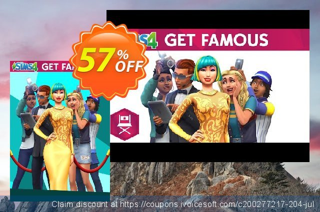 The Sims 4 - Get Famous Expansion Pack PC 优秀的 产品销售 软件截图