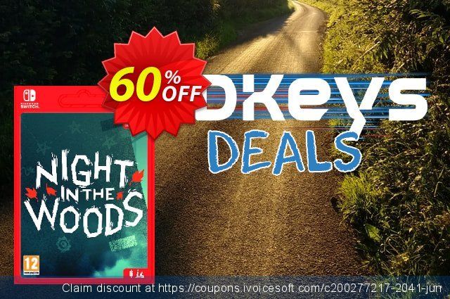 Night in the Woods Switch discount 14% OFF, 2020 Halloween offering sales