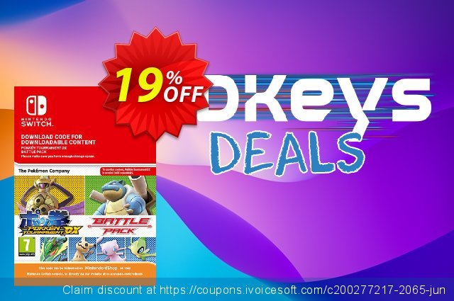Pokken Tournament DX Battle Pack Switch discount 19% OFF, 2020 Back to School event sales