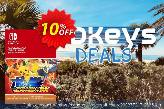 Pokken Tournament DX Switch discount 10% OFF, 2020 Back-to-School promotions deals