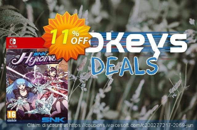 SNK Heroines Tag Team Frenzy Switch discount 11% OFF, 2020 Halloween offering sales