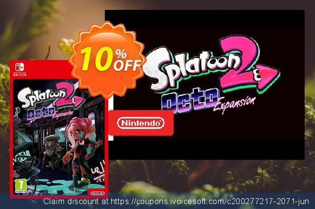 Splatoon 2 Octo Expansion Switch discount 17% OFF, 2020 Back to School season offering deals