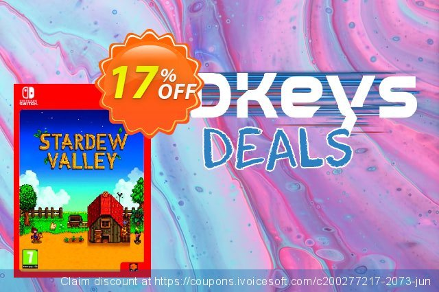Stardew Valley Switch discount 10% OFF, 2020 Halloween offering sales
