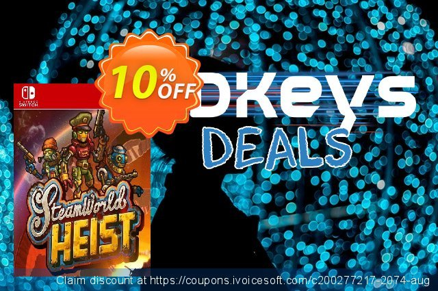 SteamWorld Heist: Ultimate Edition Switch discount 10% OFF, 2021 New Year's Day deals