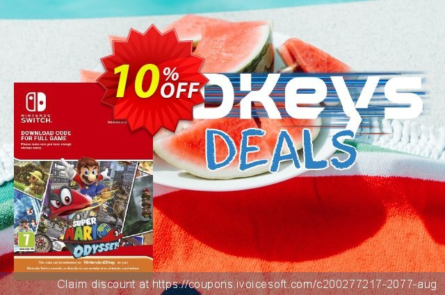 Super Mario Odyssey Switch discount 10% OFF, 2020 University Student deals offering sales