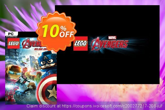 LEGO Marvel's Avengers Deluxe Edition PC discount 10% OFF, 2021 Mother Day sales. LEGO Marvel's Avengers Deluxe Edition PC Deal
