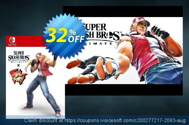Super Smash Bros. Ultimate - Terry Bogard Challenge Switch discount 32% OFF, 2021 Programmers' Day promotions. Super Smash Bros. Ultimate - Terry Bogard Challenge Switch Deal