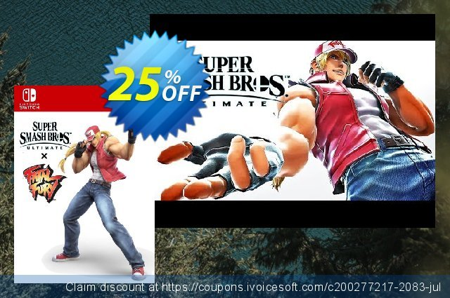 Super Smash Bros. Ultimate - Terry Bogard Challenge Switch discount 25% OFF, 2020 Back to School Promos promotions