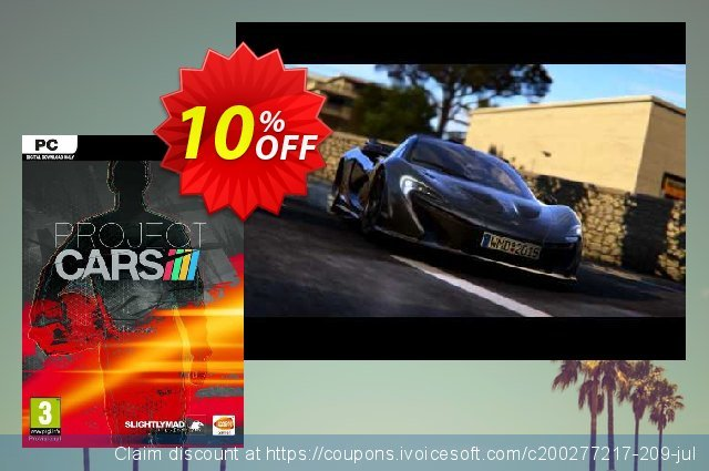 Project CARS PC discount 10% OFF, 2021 Mother's Day deals. Project CARS PC Deal