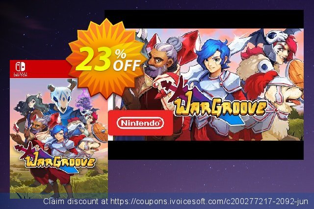 Wargroove Switch discount 22% OFF, 2020 Back to School season promo