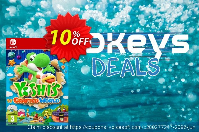Yoshi's Crafted World Switch discount 11% OFF, 2020 Happy New Year offering discount