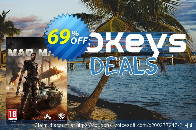 Mad Max PC discount 81% OFF, 2021 Mother's Day deals. Mad Max PC Deal