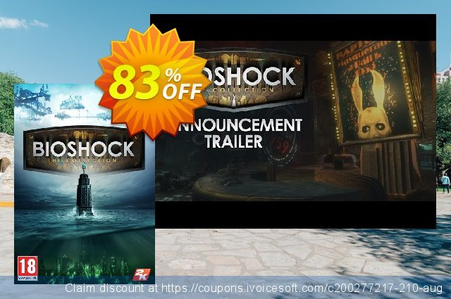 BioShock: The Collection PC (EU) discount 78% OFF, 2021 Mother Day offer. BioShock: The Collection PC (EU) Deal
