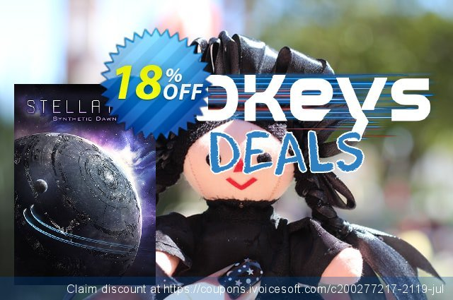 Stellaris PC: Synthetic Dawn DLC discount 10% OFF, 2020 University Student deals offering sales