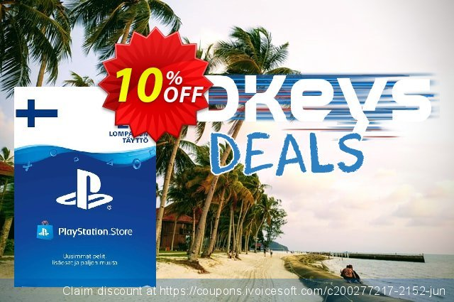 Playstation Network (PSN) Card 20 EUR (Finland) discount 10% OFF, 2020 Back to School shopping offering sales