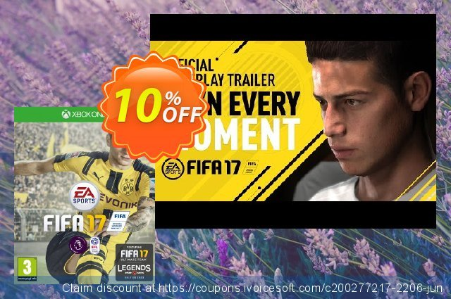FIFA 17 - Special Edition Legends Kits DLC (Xbox One) discount 10% OFF, 2020 College Student deals promo