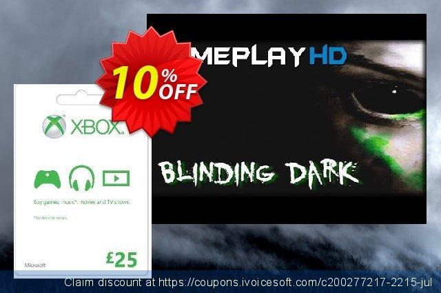 Microsoft Gift Card - £25 (Xbox One/360)  멋있어요   매상  스크린 샷