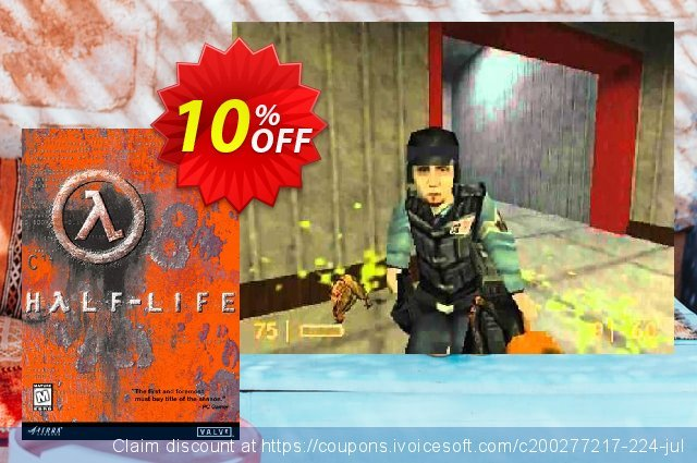 Half Life PC discount 10% OFF, 2021 Working Day offering sales