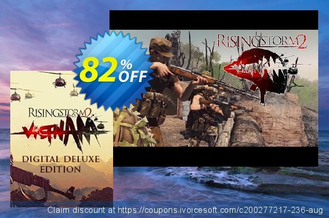 Rising Storm 2: Vietnam Digital Deluxe Edition PC discount 81% OFF, 2020 Back to School Promos offering sales
