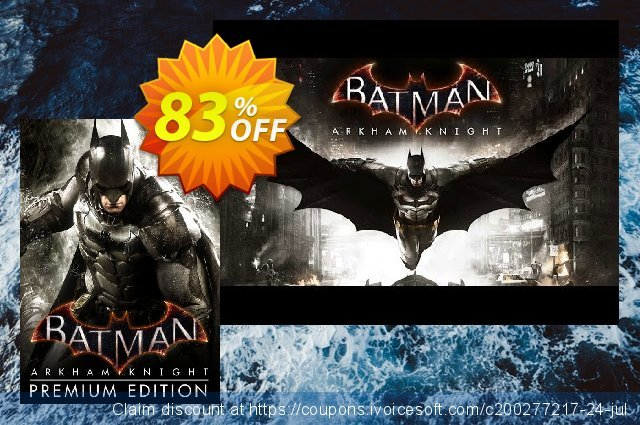 Batman: Arkham Knight Premium Edition PC  특별한   매상  스크린 샷