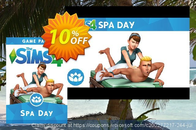 The Sims 4 - Spa Day PC discount 10% OFF, 2021 Mother Day discounts. The Sims 4 - Spa Day PC Deal