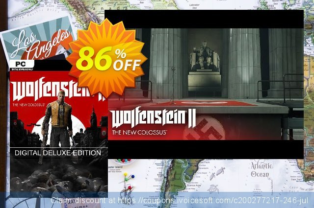 Wolfenstein II 2 The New Colossus Deluxe Edition PC 特殊 产品销售 软件截图