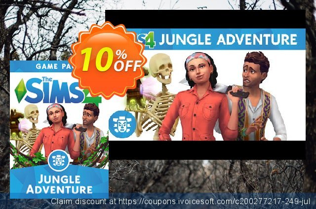 The Sims 4 - Jungle Adventure Game Pack PC  경이로운   세일  스크린 샷