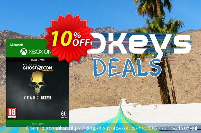 Tom Clancys Ghost Recon Wildlands: Year 2 Pass Xbox One discount 10% OFF, 2021 Italian Republic Day offering sales. Tom Clancys Ghost Recon Wildlands: Year 2 Pass Xbox One Deal
